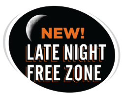 Late Night Free Zone